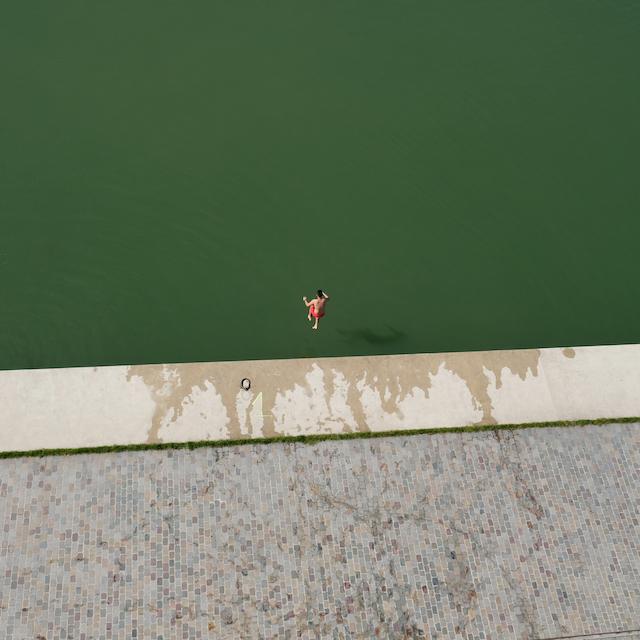 Le canal de l'Ourcq à Pantin / © Vincent Migrenne - Mig20