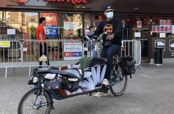 L'avenir du commerce de proximité passe par le vélo cargo