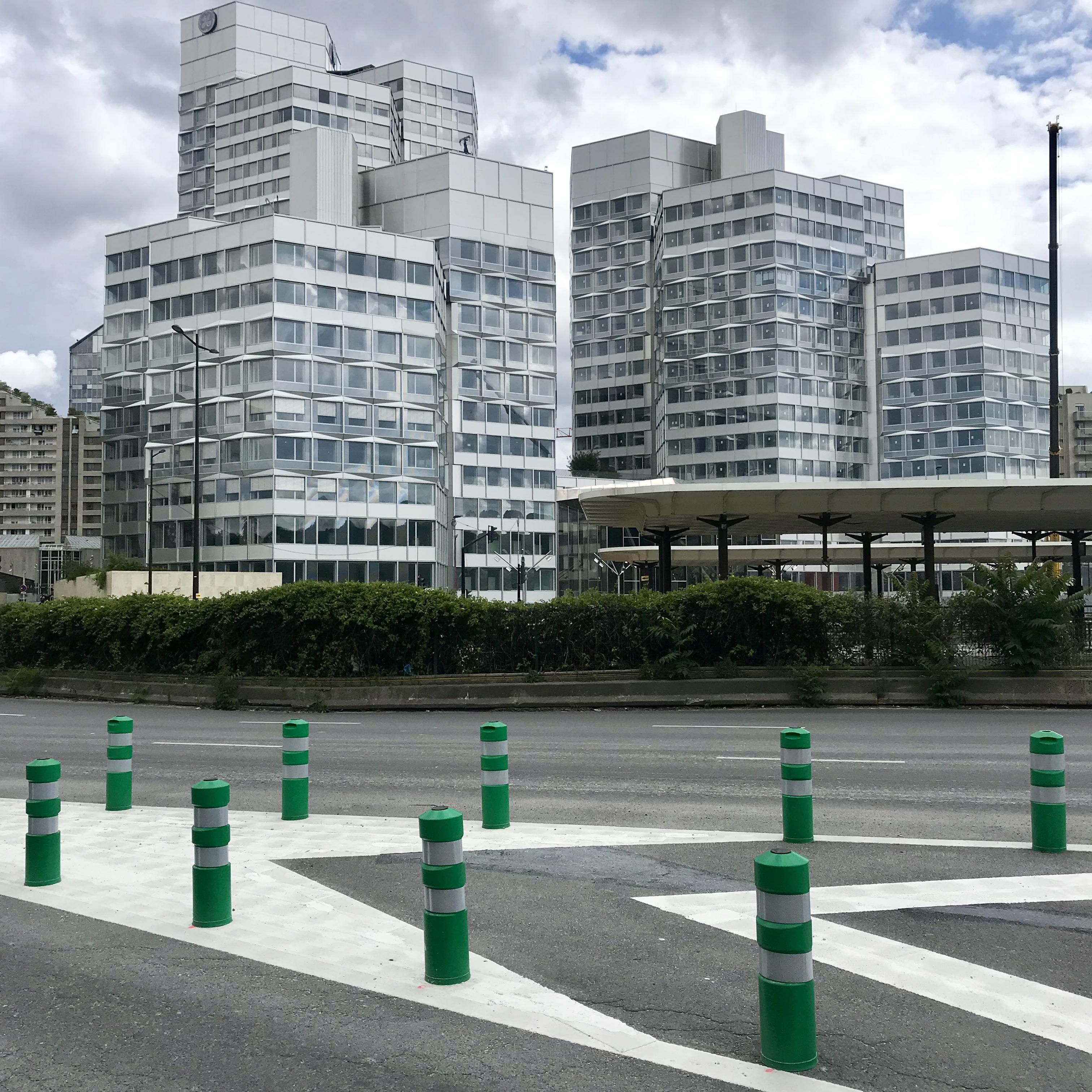 Le quartier du Trapèze AU Pont de Sèvres à Boulogne-Billancourt / © Vianney Delourme pour Enlarge your Paris