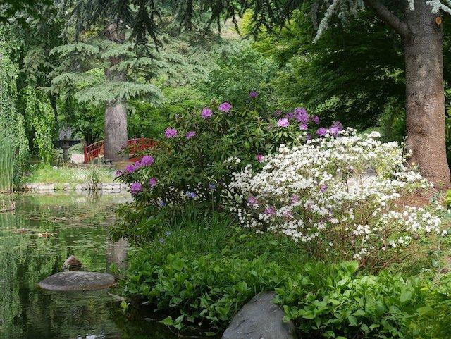 Le Jardin Albert Kahn à Boulogne-Billancourt / © Jardin Albert Kahn