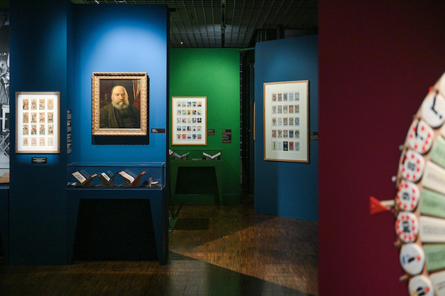 """L'exposition """"Cartomancie, entre mystère et imaginaire"""" au Musée français de la carte à jouer à Issy / © Musée français de la carte à jouer"""