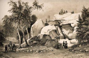 Denecourt, l'inventeur des premiers sentiers balisés au monde en forêt de Fontainebleau