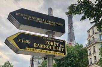 La signalétique grand-parisienne fait entrer la forêt dans Paris