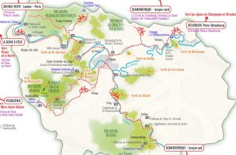 Les véloroutes des vacances pour visiter l'Île-de-France autrement