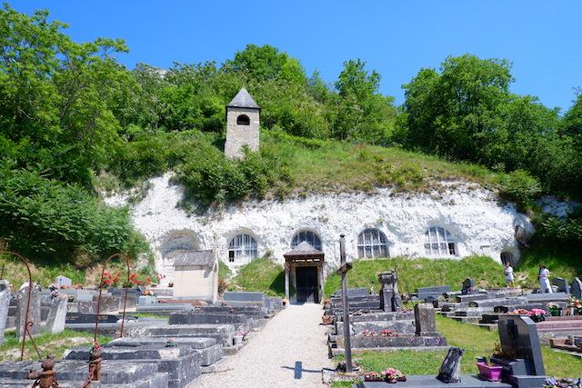 Eglise troglodyte de la Haute-Isle dans le Vexin / © Solenn Cordroc'h pour Enlarge your Paris