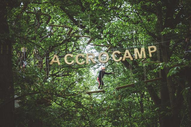 Le parc d'accrobranche AccroCamp / © AccroCamp