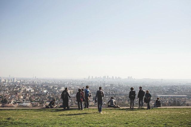 Repérages sur le futur Sentier métropolitain du très Grand Paris / © Florence Joubert