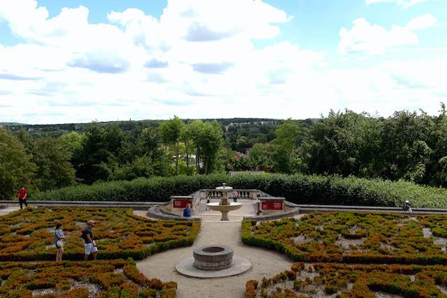 Les jardins du château d'Auvers-sur-Oise / © Jessica Jeffries-Britten pour Enlarge your Paris