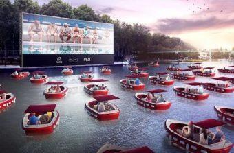 Paris invente le drive-in flottant sur le bassin de La Villette