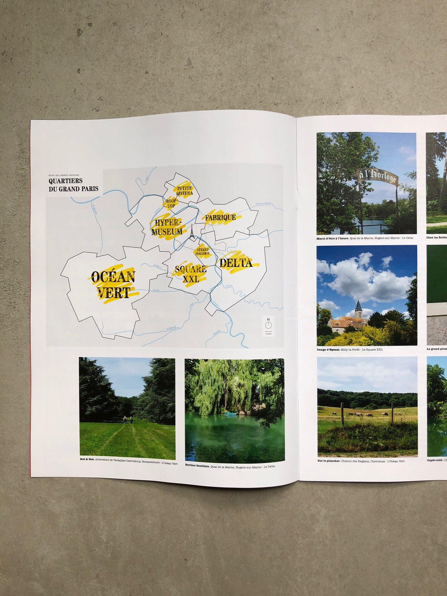 La version spéciale été du Guide des Grands Parisiens paru dans L'Obs ce 2 juillet / © Les Magasins généraux