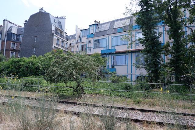 La Petite Ceinture dans le 15e / © Solenn Cordroc'h pour Enlarge your Paris