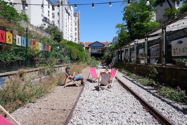 La Petite Ceinture dans le 18e / © Solenn Cordroc'h pour Enlarge your Paris