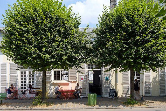 La terrasse de la Maison Montreau à Montreuil / DR
