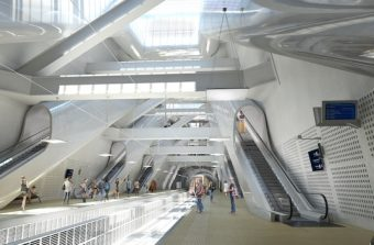 Le RER E creuse son trou sous Paris et La Défense