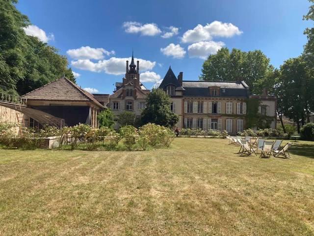 Le château de By à Thomery en Seine-et-Marne où vécut l'artiste Rosa Bonheur / © Château de Rosa Bonheur
