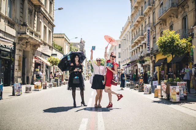 Le festival OFF d'Avignon en 2018 / © AF&C - Thomas O'Brien