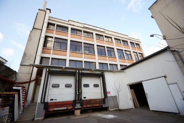 L'ancienne usine de salaisons Busso au Pré-Saint-Gervais où l'association Soukmachines a ouvert la friche du Préàvie / © Soukmachines