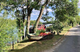 Sur la route des fromages le long de la Seine sauvage