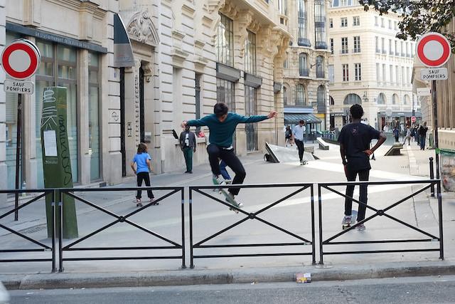 Le skate park Léon Cladel à Paris dans le 2e / © JP (Creative commons - Flickr)