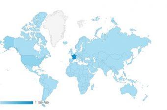 Depuis un an, Enlarge your Paris a été lu dans tous les pays du globe