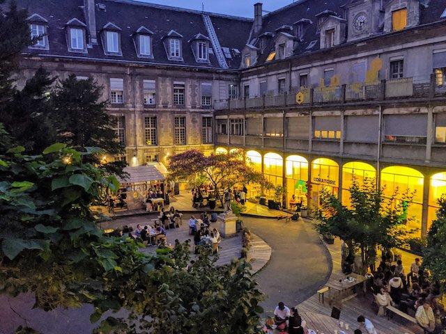 La friche des Grands Voisins dans le 14e à Paris / © Les Grands Voisins