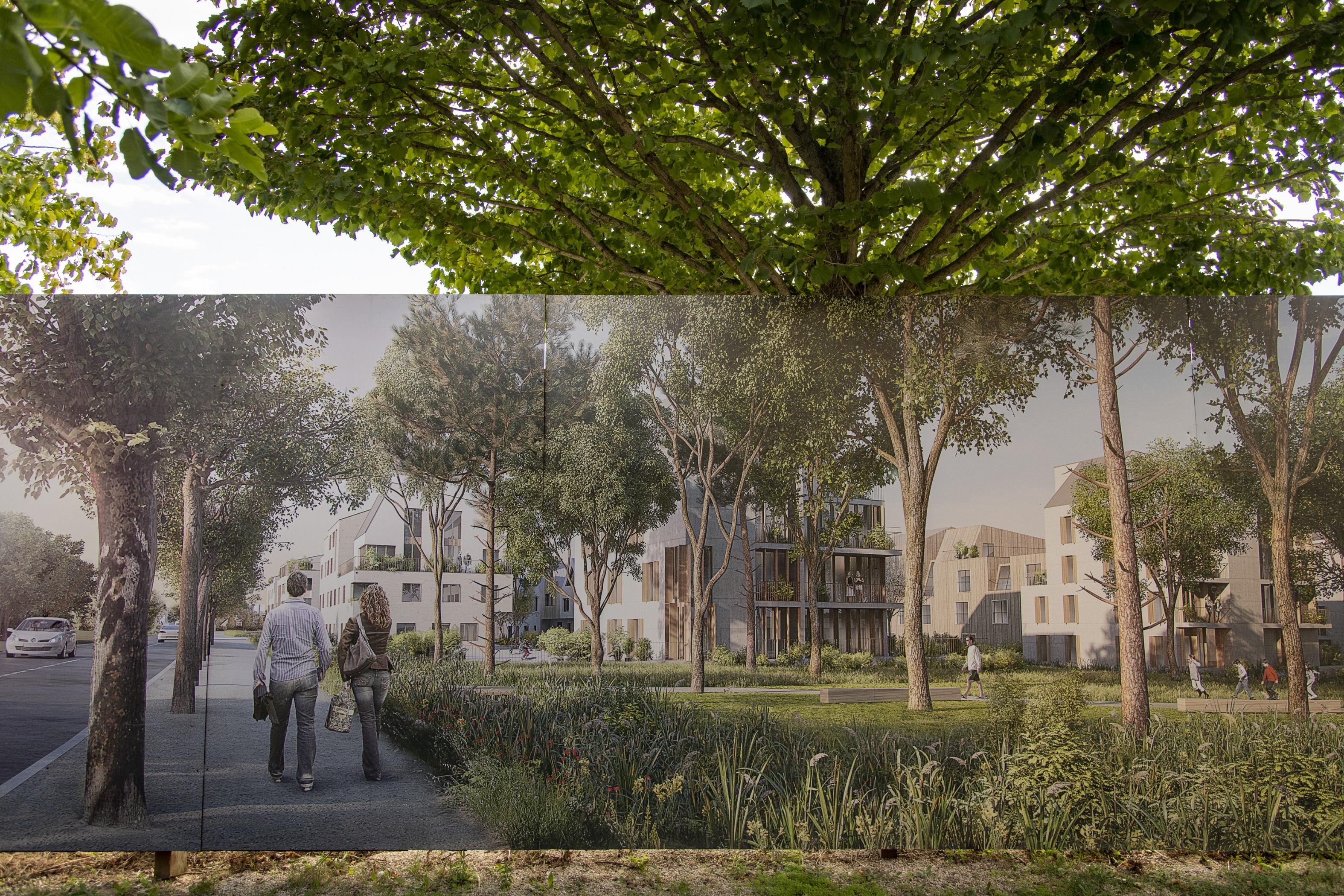 Le futur agro-quartier de Rungis dans le Val-de-Marne / © Jérômine Derigny pour Enlarge your Paris