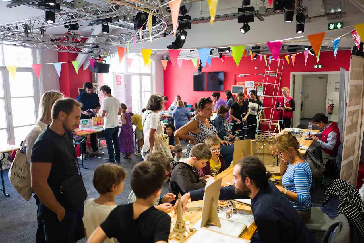 Le MAIF Social Club à Paris accueille les 5 et 6 septembre le Grand Bazar des savoirs / © Edouard Richard - MAIF
