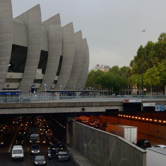 La Porte de Saint-Cloud et le Parc des Princes à Paris / © Caroline Delmotte - Forum vies mobiles