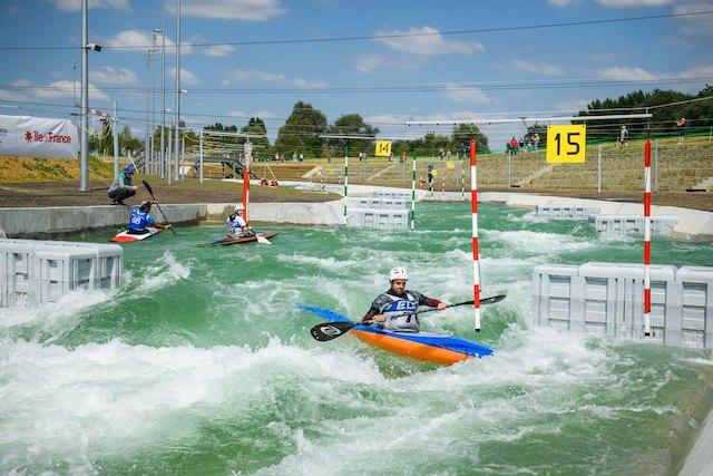 La rivière olympique du stade d'eaux-vive de Vaires-Torcy / © Vincent Colin.