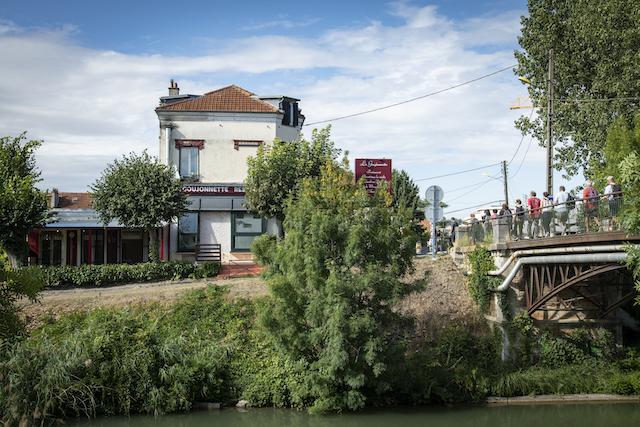 Jour 10. Traversée du canal de l'Ourcq / © Jérômine Derigny pour Enlarge your Paris