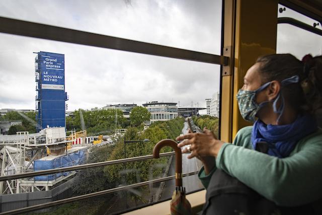 Jour 12. Retour en RER B depuis la gare de La Plaine – Stade de France / © Jéromine Derigny pour Enlarge your Paris