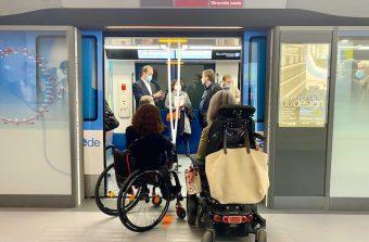 Des ateliers pour adapter le futur métro du Grand Paris Express aux différents handicaps