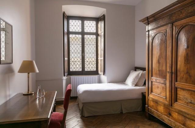 Une chambre de l'abbaye de Royaumont / © Abbaye de Royaumont