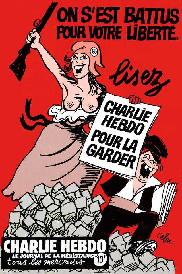 Affiche de Cabu pour Charlie Hebdo en 1994 / © V. Cabut