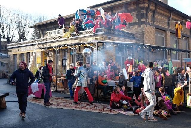 La friche des Grands Voisins à Paris / © Yes We Camp