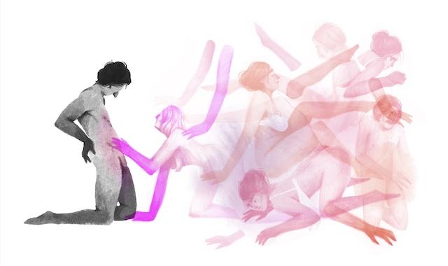 Oeuvre de Louise de Crozals, l'une des illustratrices présentes au Marché de l'illustration impertinente au Hasard ludique les 2 et 3 octobre / © Louise de Crozals
