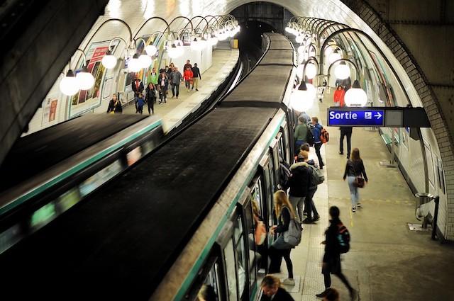 La station de métro Cité à Paris / © Olivier Prt (Creative commons - Flickr)