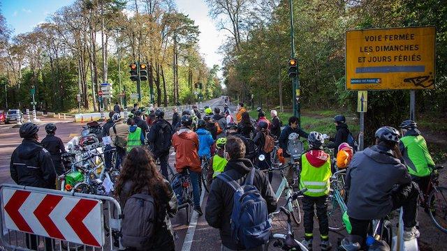 La première étape du Tour du Grand Paris à vélo le 4 octobre entre Porte de Montreuil et Bondy / © Michaël Silly
