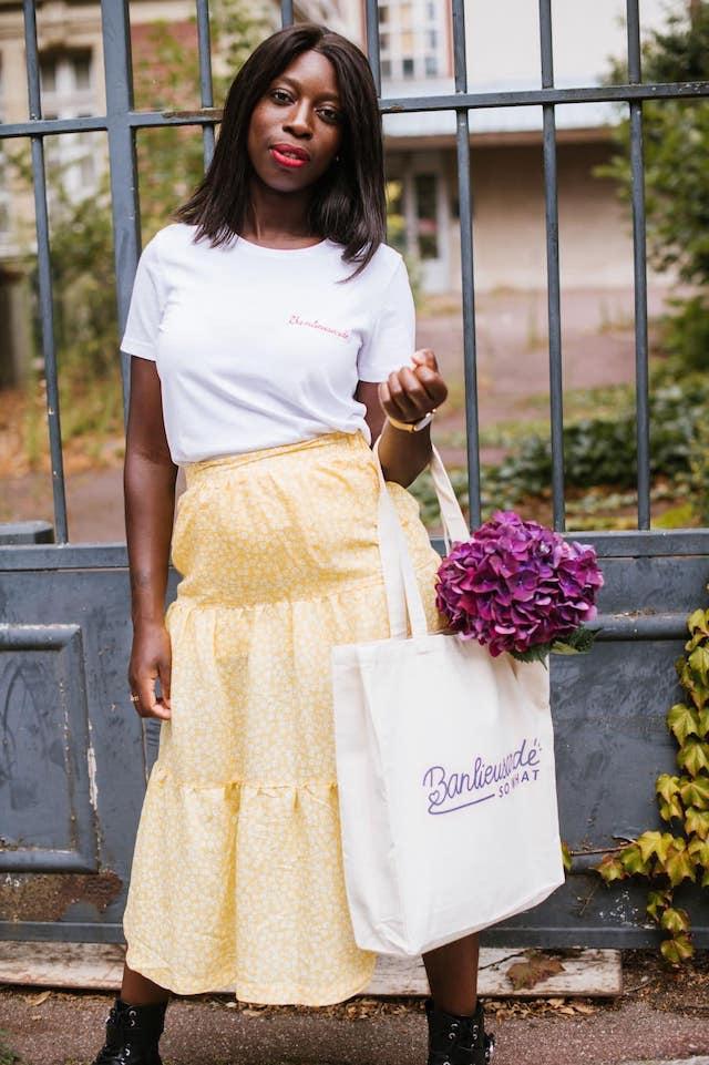 Banlieusarde So What, une ligne de vêtements et d'accessoire lancée par la fondatrice du blog Ma Petite Banlieue / © Ma Petite Banlieue