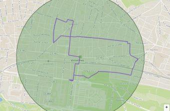 Un site pour trouver des balades à vélo dans un rayon de 1 km autour de chez soi
