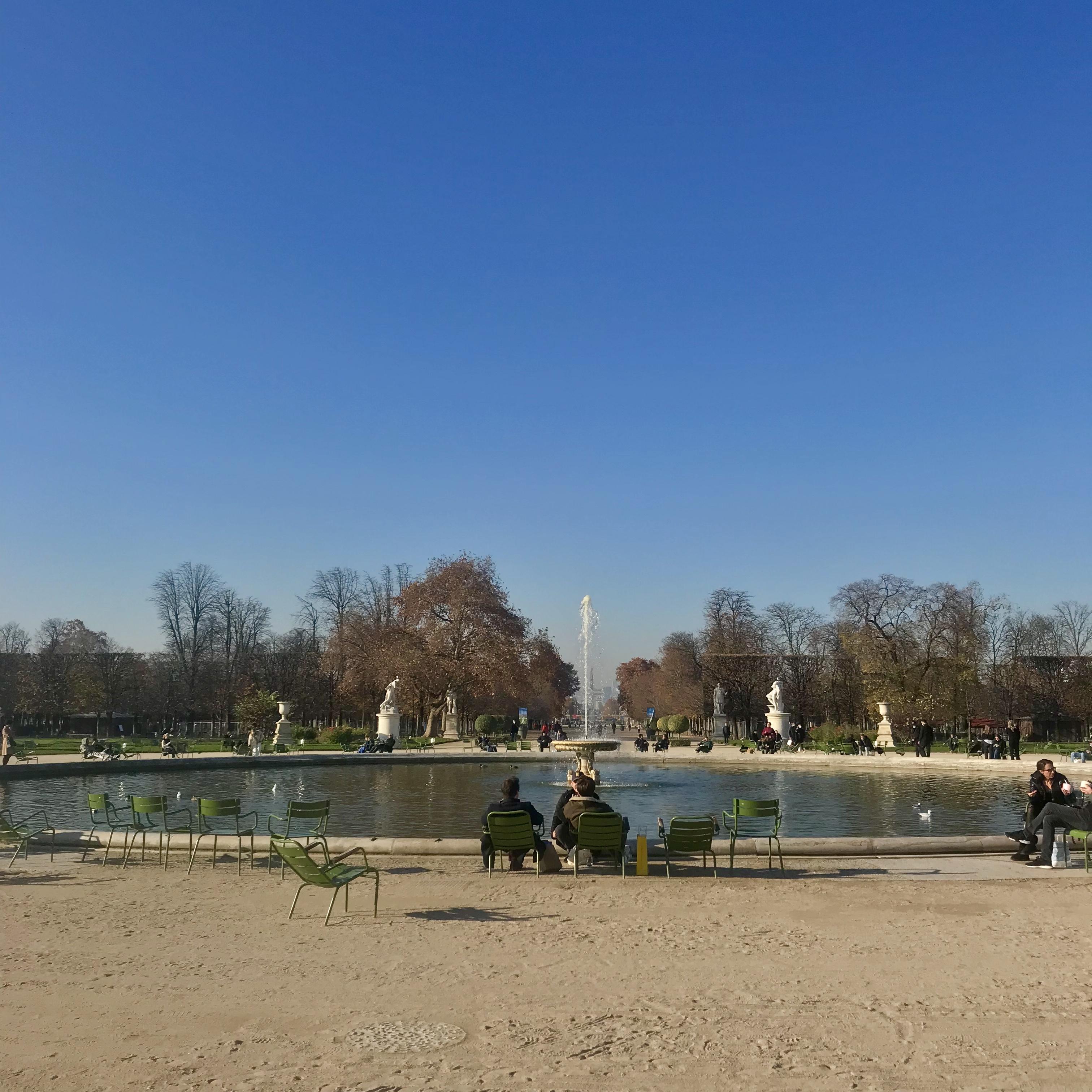 Le jardin des Tuileries à Paris / © Vianney Delourme pour Enlarge your Paris