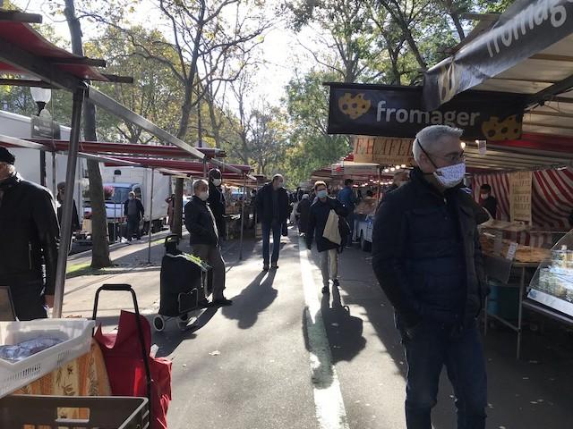 Le marché de Charonne à Paris (11e) / © Olivier Razemon