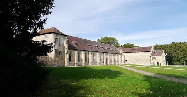 L'abbaye de Maubuisson dans le Val-d'Oise / © Groume (Creative commons - Flickr)