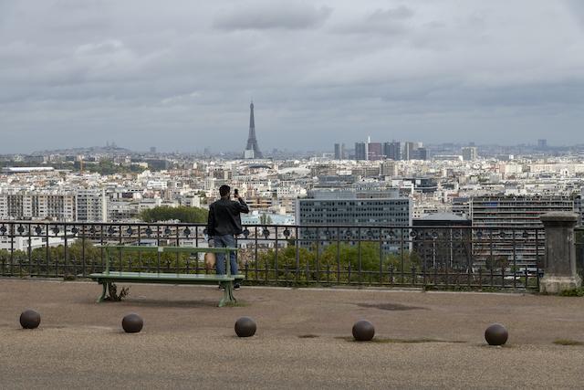 Le panorama depuis la terrasse de la Lanterne dans le parc de Saint-Cloud / © Jérômine Derigny pour Enlarge your Paris