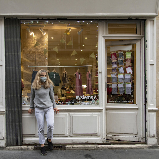 Céline a ouvert Système C, magasin de prêt-à-porter pour enfants fait-main / ©  Jérômine Derigny pour Enlarge your Paris