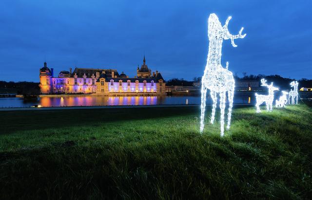 Les décorations de Noël du château de Chantilly / © Domaine de Chantilly