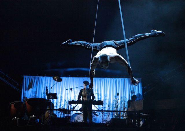 Le Cirque électrique / © F. Beddok