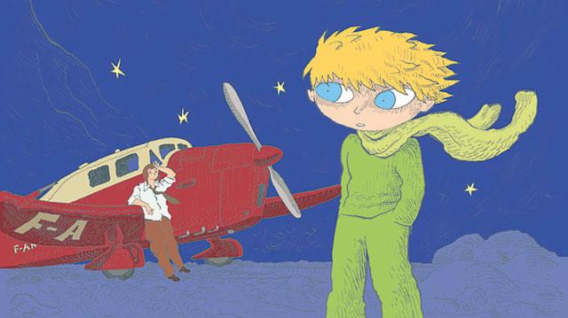 Le Petit Prince dessiné par Joann Sfar / © Joann Sfar - Gallimard