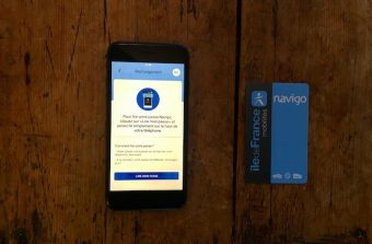 Le passe Navigo désormais rechargeable sur iPhone