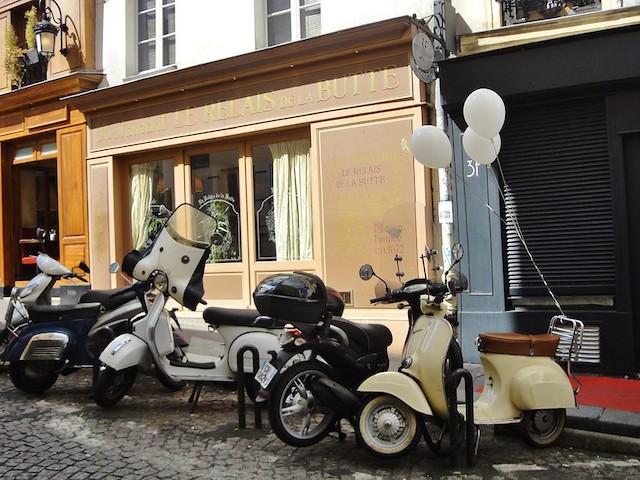 Parking pour deux-roues à Paris / © Vania Wolf (Creative commons - Flickr)